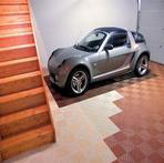 Rubber Tiles Garage Photo