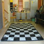 Rubber Tile Car Pad Photo