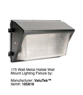 Wall mount garage exterior lighting fixture 2 for Exterior wall mounted light fixtures commercial