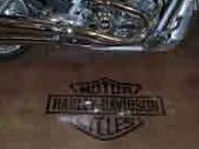 Polished Concrete Harley Pad