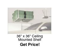 36x36 Ceiling Storage Rack