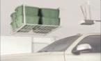 36x36 Ceiling Mounted Shelf