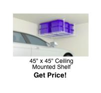 45x45 Ceiling Storage Rack