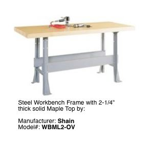Shain Steel Frame Workbench