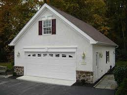 The 2 Car Garage Shown Here Can Be Prefabbed By Any Modular Home Factory And Delivered To Your Property Ready Install On Foundation