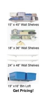 Wall Shelving Units