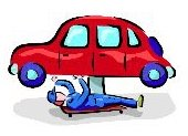 Auto Mechanic Cartoon Image