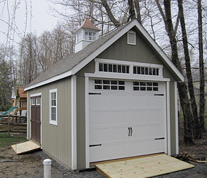 Modular garage for Prefab 2 car detached garage