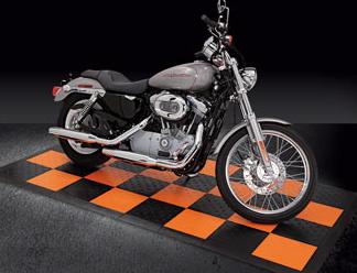 Race Deck Harley Photo