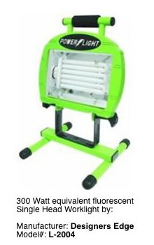 Small Portable Work Light